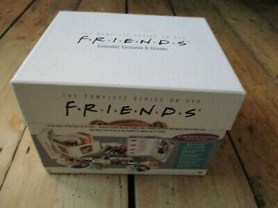 Friends Complete DVD Collection Box Set Season 1-10 Anniversary Edition Complete