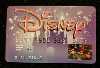 Disney Credit Card Monogram CC Bank of Georgia  ♡Free Shipping♡cc167♡