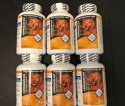 Cosequin DS Joint Health Supplement For All Size Dogs. New. 1,320 Soft Chews
