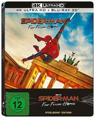 Spider-Man Far From Home Limited Edition Steelbook Blu-ray 3D + 4K UHD PRE-ORDER