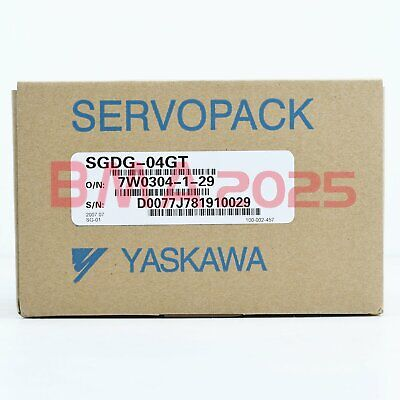 1Pc Brand new Yaskawa servo driver SGDG-04GT 1 year warranty free Shipping