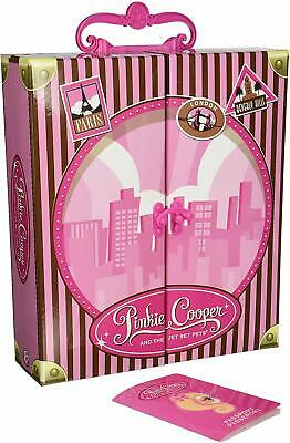 """RARE 12"""" PINKIE COOPER Jet Setting Carry Along Doll Toy Case NEW"""