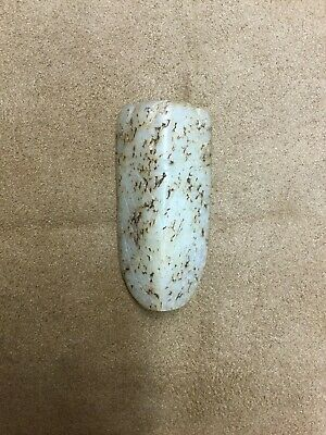 Antique Chinese Western Han Jade Carved Cicada Pendant Artifact