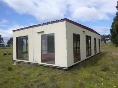 Portable transportable building workshop cabin home tiny house