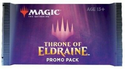 Magic the Gathering Sealed Throne of Eldraine ELD Promo Booster Pack