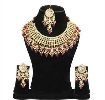 Fantastic Gold Plated Necklace With Earring Pendent Jewellery Party Wear