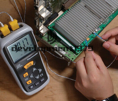 DT-613 CEM New Thermocouple thermometer/portable digital probe thermometer