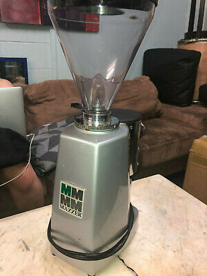 Mazzer Luigi Coffee Grinder Automatic Commercial Build Refurbished Silver