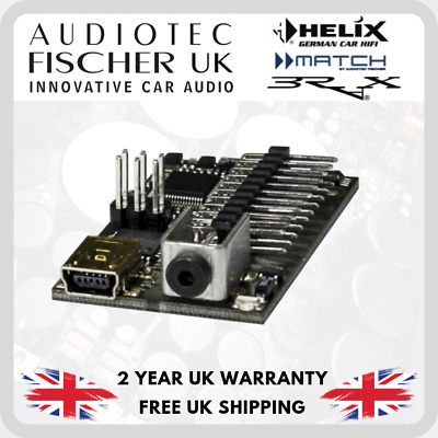 Helix by Audiotec HEC HD-Audio USB Interface DSP Mini Module add-on
