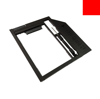 "For 9.5/9.0/8.9mm Optical Bay Size, 2.5"" SATA SSD 2nd HDD Caddy Box Replacement"