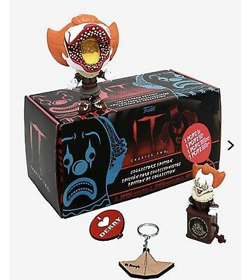 Chapter Two It Funko Pop Hot Topic Exclusive Collector's Edition Mystery Box
