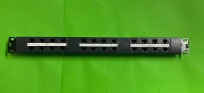 Krone 24 port Patch Panel 6450 4 048 00 Used