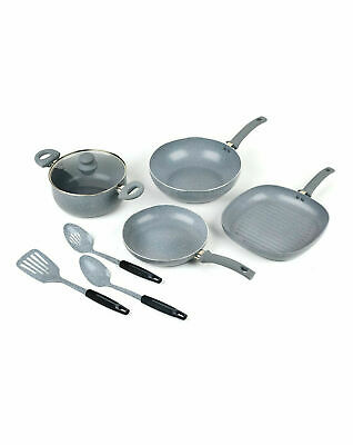 Russell Hobbs Stone Collection Non Stick Pan Griddle 7 Piece Combo Collection
