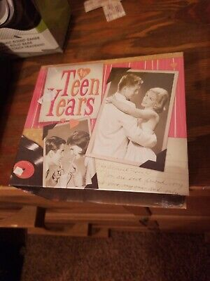 """New Various Artists """"The Teen Years"""" 10 CD Box Set Time Life sealed"""
