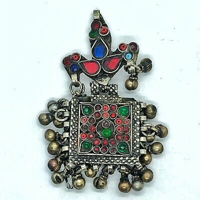 Late/Post Medieval Ottoman Empire Jewelry Pendant Islamic Talisman Middle East .