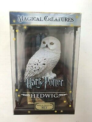 Bnib The Noble Collection Magical Creature Harry Potter Hedwig Statue No. 1