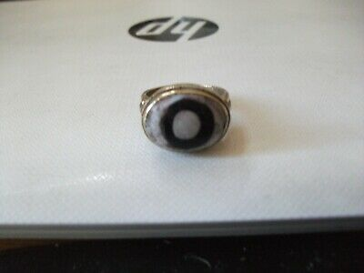 Antique Phoenician Design Ring With Superb Unusual Stone