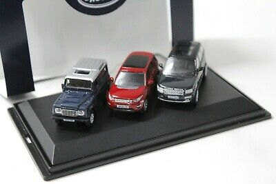1:76 Oxford Land Rover Set 3 pcs. Defender Range Rover NEW bei PREMIUM-MODELCARS
