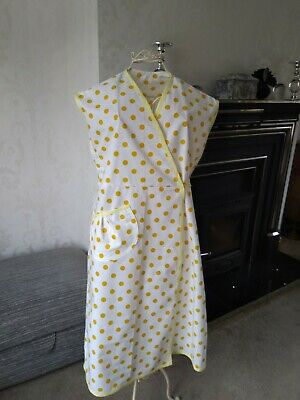 WAR TIME 1940's STYLE WRAP  PINNY, RE- ENACMENT, THEMED EVENTS 16/18