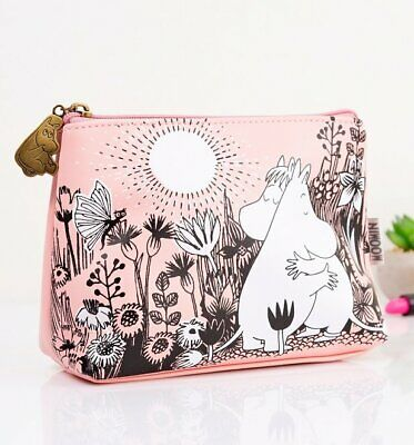 Official Pink Moomin Love Make Up Bag from House of Disaster
