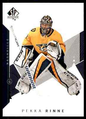 2018-19 SP Authentic Pekka Rinne #39