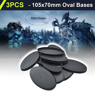10PCS 170x105mm-Oval-Bases-For-wargames-table games
