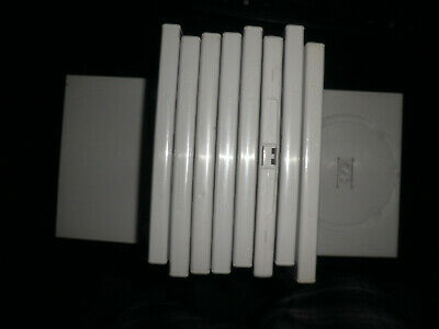 nintenod wii - 9 empty offical replacment cases