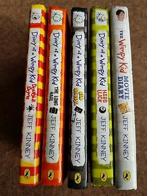 Diary Of A Wimpy Kid, 5 Book Bundle (Hardbacks)