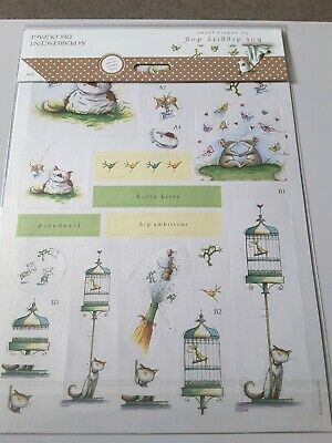 A4 Pearlescent Decoupage 2pk Great Outdoors - Hot Diggity Dog