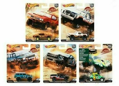 Hot Wheels 2019 Car Culture Desert Rally Set Of 5 From Case Fpy86-956K