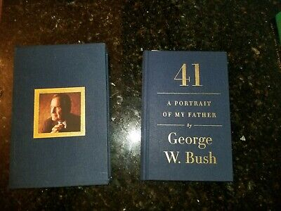 President George W. Bush Signed Autographed 41 , in Boxed Presentation W/Bonus