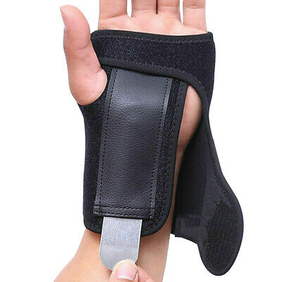 Hand Wrist Brace Support Removable Splint Relieve Carpal Tunnel Syndrome Sports