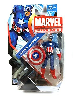 "Captain America Marvel Universe Series 5 Action Figure 3.75"" MOC New Hasbro"