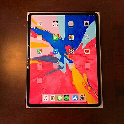 """Apple iPad Pro 3rd Gen 64GB, Wi-Fi, 12.9"""" - Space Gray With Accessories."""