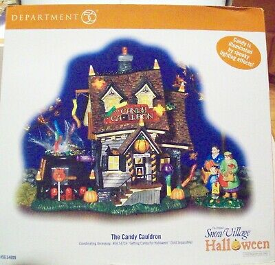 "Dept 56 Halloween ""The Candy Cauldron""  54609"