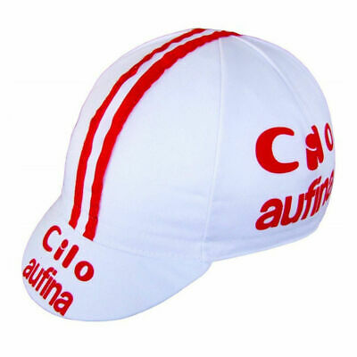 Cilo Aufina Retro Vintage Made In Italy Cycling Team Summer Bike Cycle Hat Cap