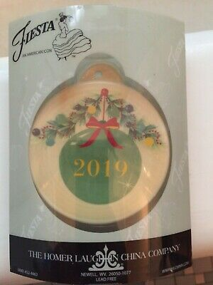 Fiesta 2019 Christmas Ornament