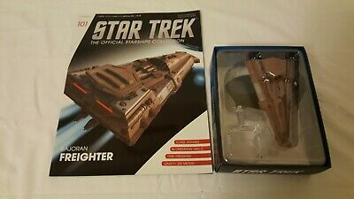 Eaglemoss Issue # 101 Bajoran Freighter With Book