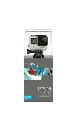 GoPro HERO4  Action Camcorder - Silver - Brand New
