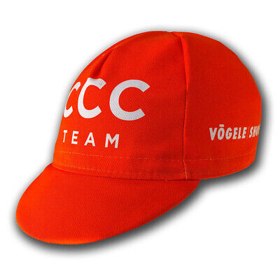 CCC 2019 PRO CYCLING TEAM SUMMER UNDER HELMET CYCLE BIKE HAT CAP - Made Italy