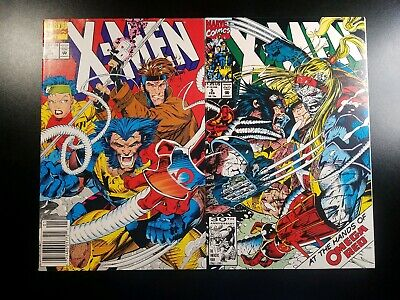 X-Men Lot #4 5 First And Second Appearance Omega Red Jim Lee John Byrne 1992