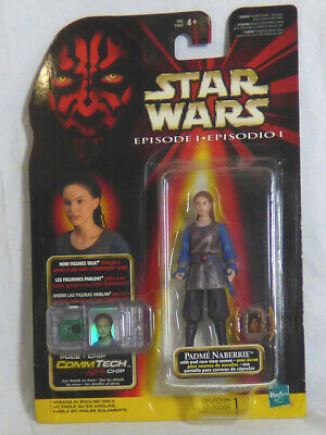 Hasbro Star Wars Episode One Padme Naberrie with Commtech Chip ** New **