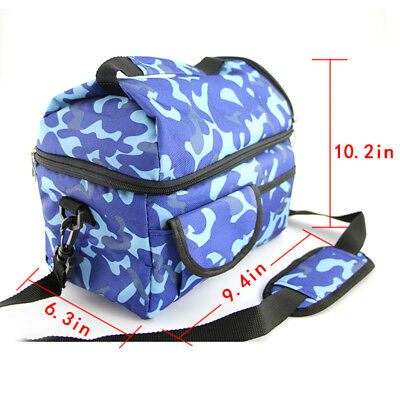 Insulated Lunch Bag Tote Travel Hot Cold Food Cooler Thermal Bag
