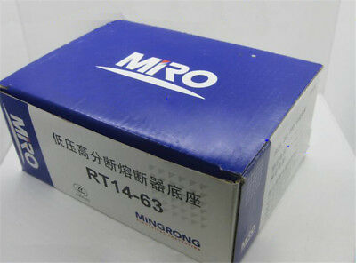 1PCS MRO RT14-63 Fuse Holder fits for RO17 63A 690V fuse 22*58mm