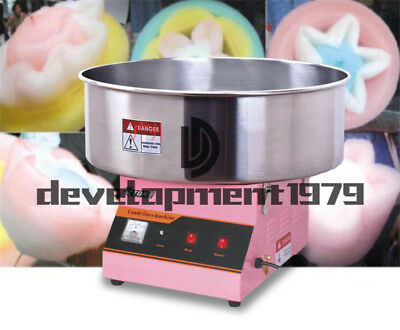 Commercial Electric ET-MF03 Automatic Cotton Candy Machine 220V 1080W