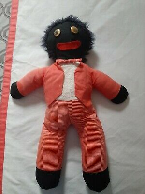 Vintage Cloth Golliwogs. Netta Approx 50cms Doll Collectable
