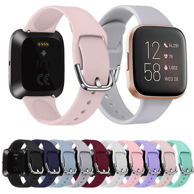 Sport Bracelet Silicone Watch Band Replacement Strap For Fitbit Versa 2 1 Lite