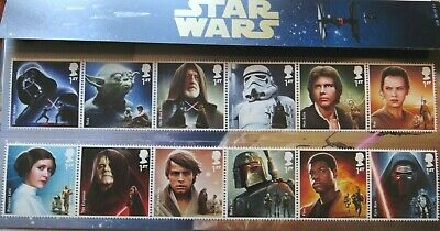 Royal Mail Star Wars Stamps Presentation Pack 2015 The Dark Side Of The Force