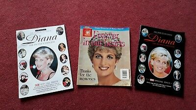 THE PEOPLES PRINCESS A TRIBUTE TO DIANA:  OK MAGAZINE 2 SPECIAL ISSUES plus ONE