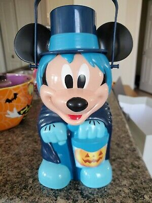 Disney Parks Mickey Mouse Hatbox Ghost Haunted Mansion Popcorn Bucket Halloween